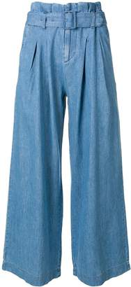 Levi's Belted Wide Leg Trousers