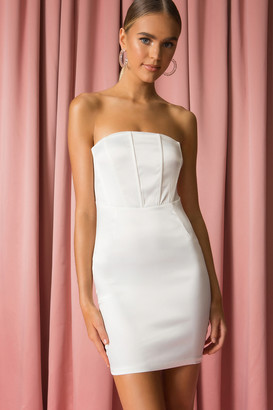 superdown Leila Strapless Dress