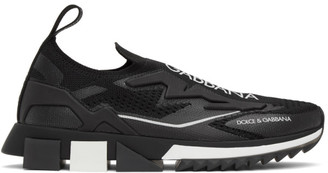 Dolce & Gabbana Black Sorrento Sneakers