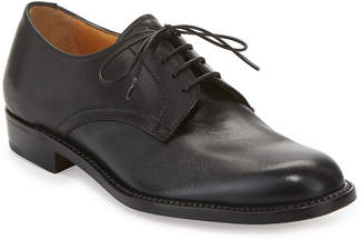 Gravati Calf Leather Lace-Up Oxford, Black