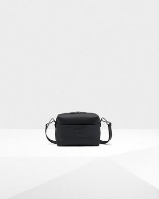 Hunter Rubberised Leather Crossbody Bag