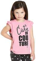 Juicy Couture Toddler's & Little Girl's Cutie In Couture Tee