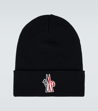 MONCLER GRENOBLE Knitted wool beanie