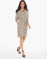 Chico's Leopard Shirt Dress