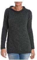 H953 Women's Grey Wool Sweater.