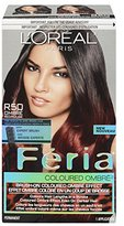 L'Oreal Feria Brush-on Ombre Effect Hair Color, R50 Ombre Red (Packaging May Vary)