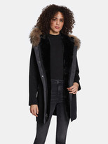 Thumbnail for your product : Dawn Levy Tiffany Wooded Hood Blend Duffle Coat