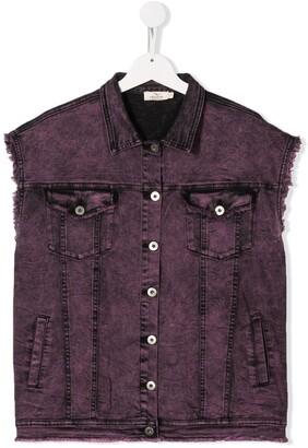 Andorine Oversized Vest Jacket