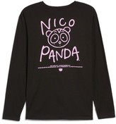 Hanes Women's Nicopanda Long Sleeve Tee