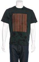 Alexander Wang Tie-Dye Barcode T-Shirt