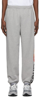 Aries Grey New Balance Edition Logo Lounge Pants
