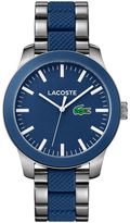 Lacoste Unisex Lacoste.12.12 Mixed Material Blue Watch