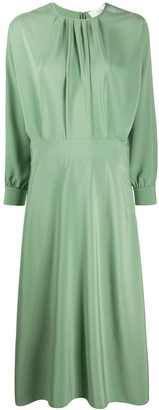 Victoria Victoria Beckham Pleated Front Dress