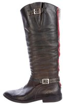 Golden Goose Deluxe Brand Distressed Leather Boots