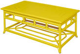 Selamat Regeant Outdoor Coffee Table - Yellow