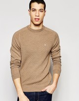 Original Penguin Merino Wool Knitted Jumper