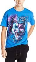 FEA Men's Insane Clown Posse ICP Barbed Wire Jester T-Shirt