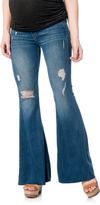 A Pea in the Pod Mcguire Secret Fit Belly Skinny Flare Maternity Jeans