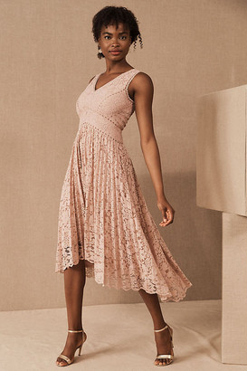 BHLDN Perri Dress By in Pink Size 0