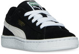 Puma Little Boys' Suede Casual Sneakers from Finish Line
