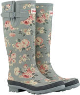 Cath Kidston Wells Rose Printed Wellington Boots