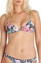 Billabong Women's X Andy Warhol Surf Triangle Bikini Top