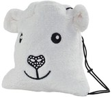 Poivre Blanc Furry Bear Bag