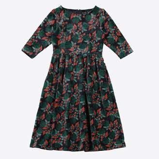 Lowie Velvet Berries Dress - M