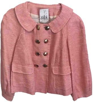 Tibi Pink Cotton Jackets