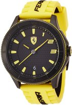 Ferrari Men's Scuderia Yellow Sport Watch 0830135