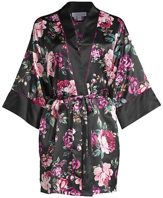 In Bloom Winter Garden Floral Robe