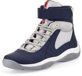 Prada Punta Ala High-Top Sneaker