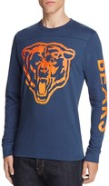 Junk Food Clothing Chicago Bears Long Sleeve Graphic Tee