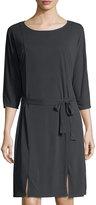 LAmade Zander 3/4-Sleeve Jersey Dress