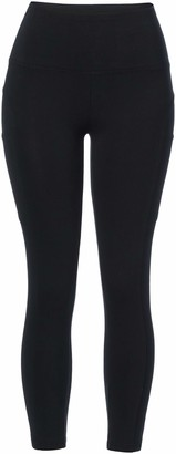 Andrew Marc Women's High Waisted Legging with Side Pockets