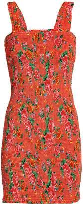 Rhode Resort Jasmine Smocked Floral Dress