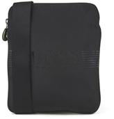 BOSS GREEN Men's Pixel Zip Shoulder Bag Black