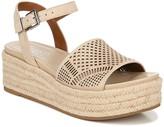 Franco Sarto Tennia Espadrille Perforated Platform Sandal