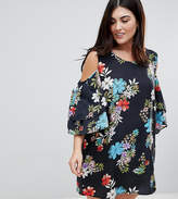 Koko Cold Shoulder Printed Dress