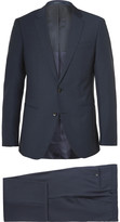 HUGO BOSS Hamsen Glen Slim-Fit Wool Three-Piece Suit