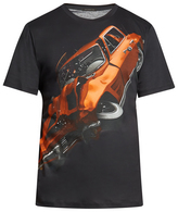 Christopher Kane Car crash-print T-shirt