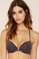Forever 21 FOREVER 21+ Lace-Back Push-Up Bra