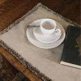 Downton Abbey® Ruffled Luxury Collection Linen Table Runner
