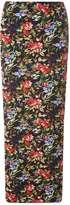 Dorothy Perkins Black Floral Maxi Skirt