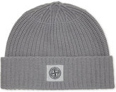 Stone Island Patch Logo Wool-cashmere Blend Beanie