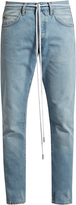 Off-White Spray-print slim-leg jeans