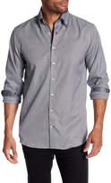 Lindbergh Double Collar Checkered Regular Fit Shirt