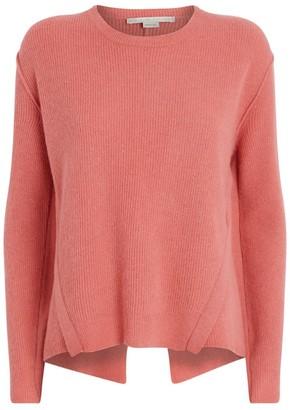 Stella McCartney Wool-Alpaca Deconstructed Sweater