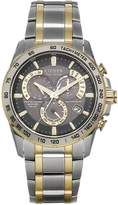 Citizen Eco-Drive Perpetual Chrono A.T. Radio-Controlled Bracelet Mens Watch