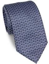 Armani Collezioni Two-Tone Dot Silk Tie